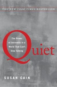 Cover of Quiet: The Power of Introverts in a World That Can't Stop Talking by Susan Cain