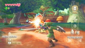 Screenshot from The Legend of Zelda: Skyward Sword