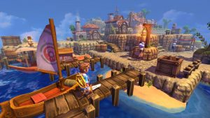 Screenshot from Oceanhorn: Monster of Uncharted Seas