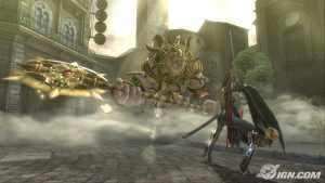 Screenshot from Bayonetta
