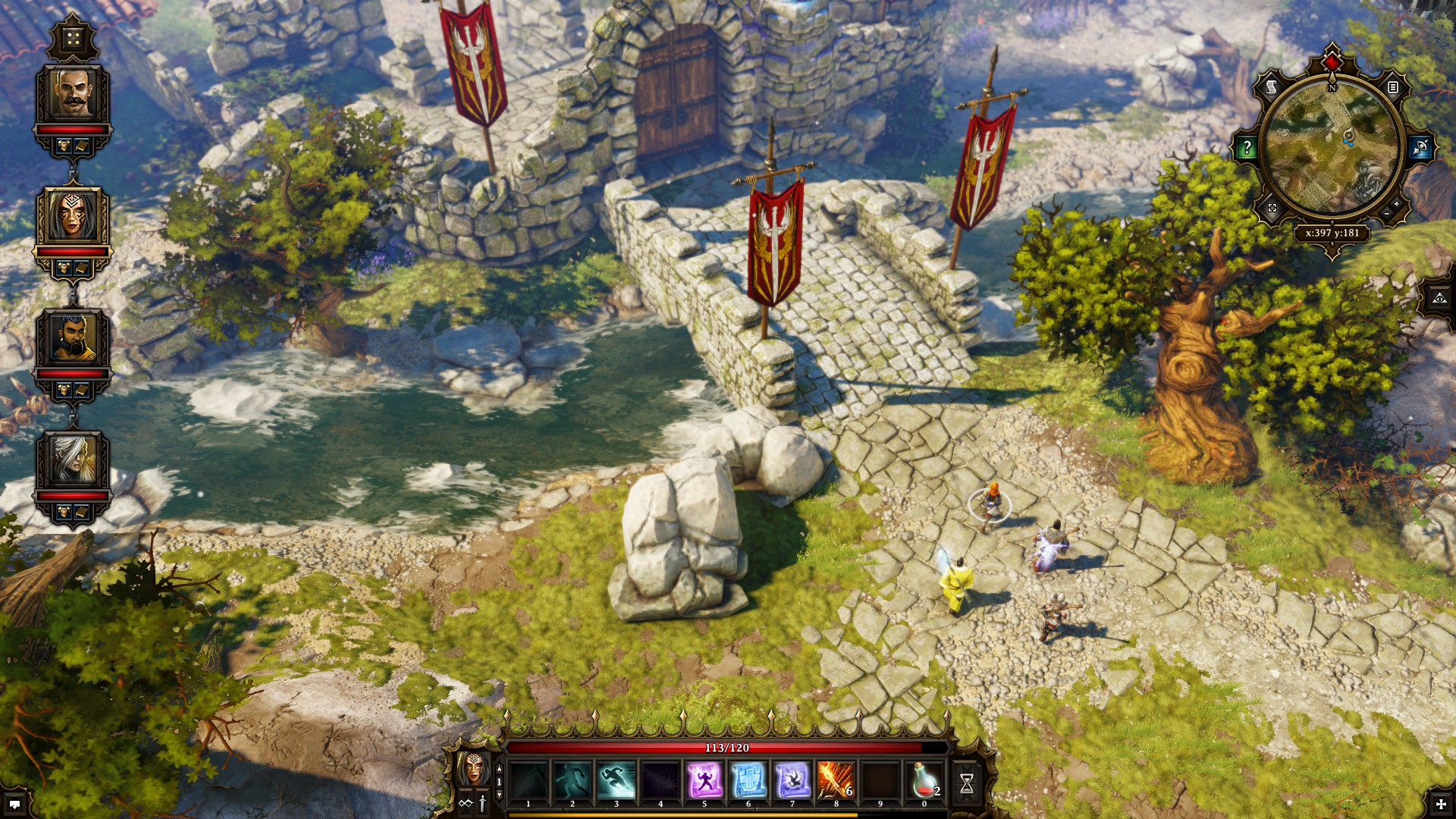 Divinity: Original Sin outside gate
