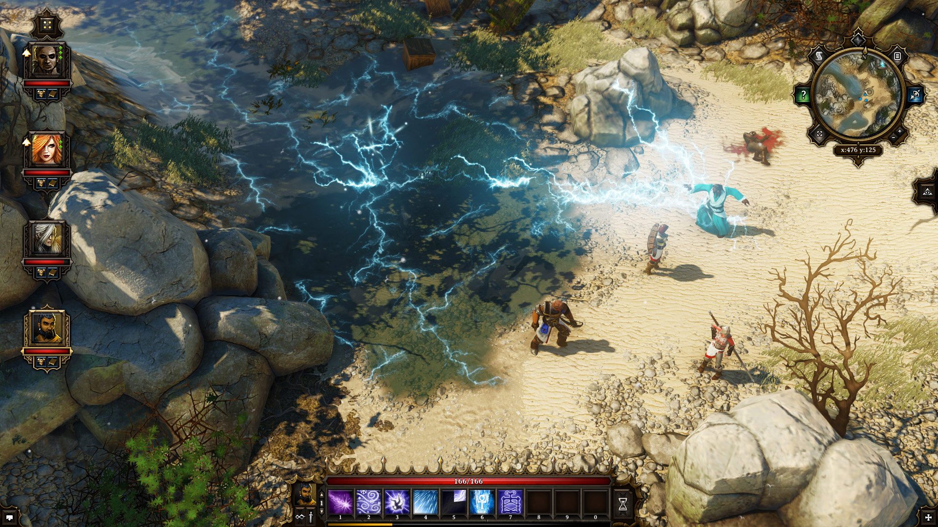 Divinity: Original Sin electrified water