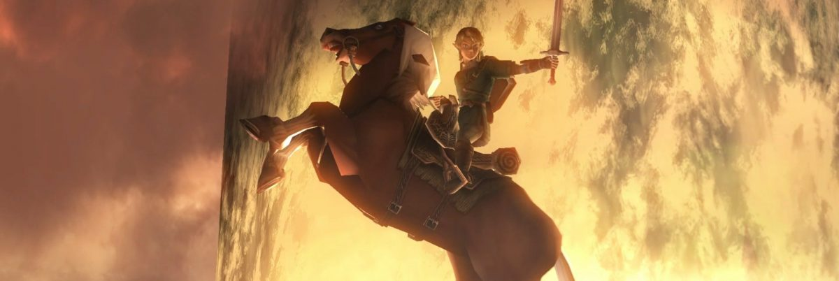 Twilight Princess HD Link on horse