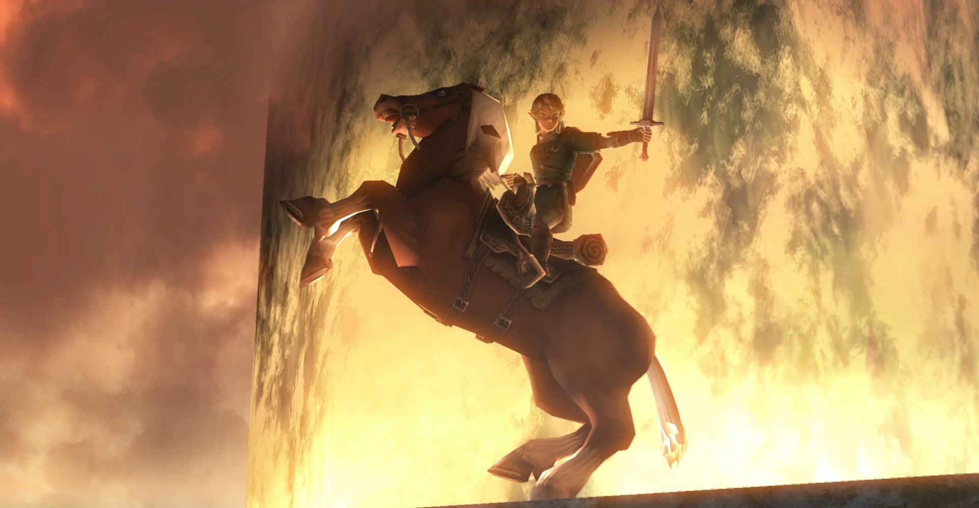 Twilight Princess HD Link on horse