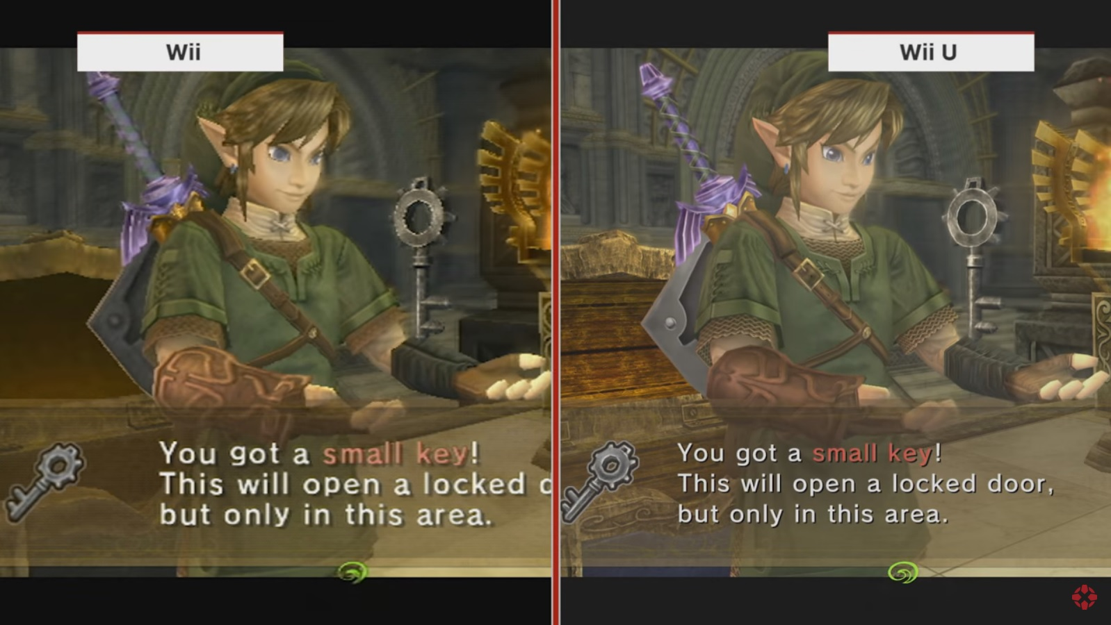 Twilight Princess HD comparison
