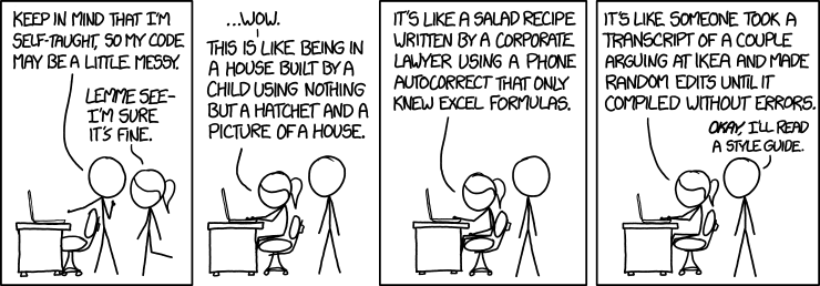 XKCD - Code Quality