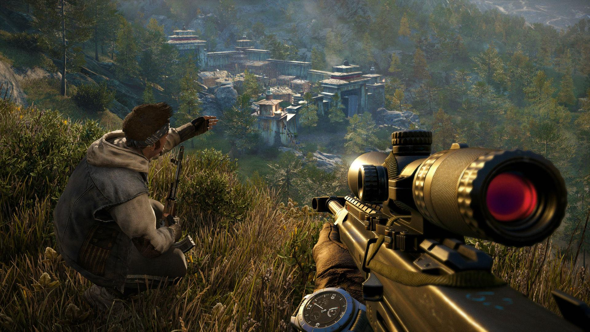 Outpost in Far Cry 4