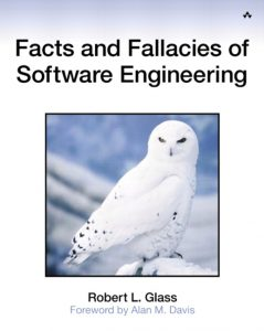 "Cover of ""Facts and Fallacies of Software Engineering"""