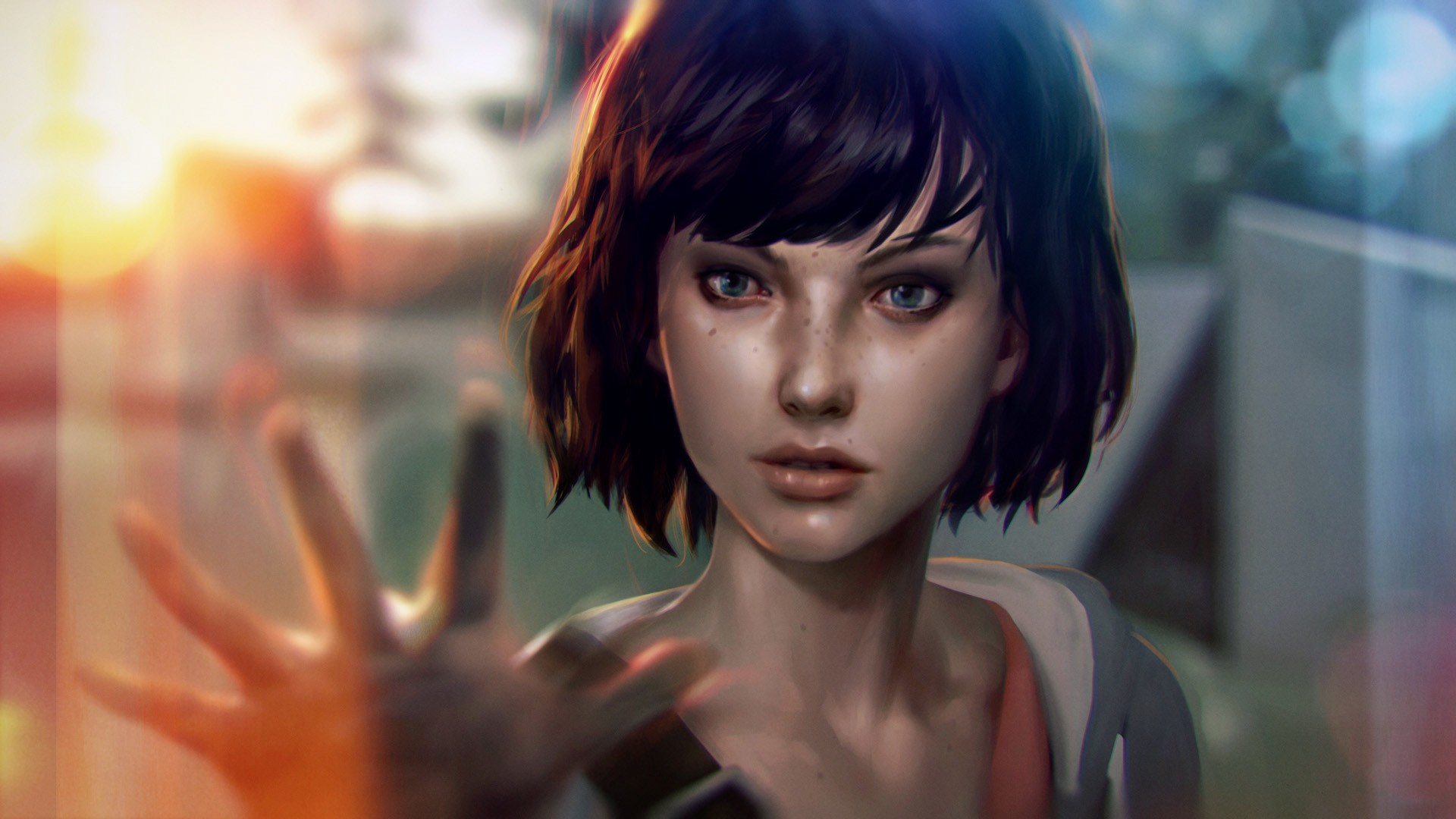 Concept art of Max Caulfield from Life is Strange