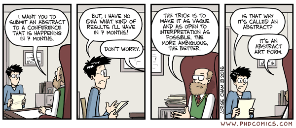 PhD Comics - Abstract Art